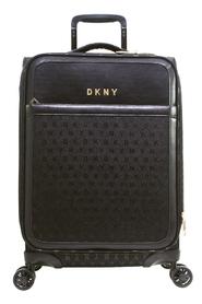 "Svart DKNY Signature 25"" Upright Mellomstor Koffert"