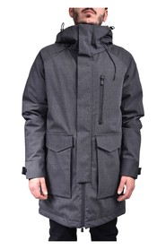 COROMELL PARKA IN MIXED WOOL