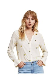 Lily frill blouse
