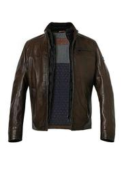 Manuel leather jacket