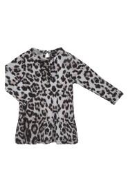 Petit by Sofie Schnoor - Baby Kjole LS - Leopard