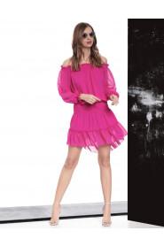 Sukienka Havana Fuksja Fluo