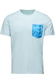 Portofino Print Pocket T-Skjorte