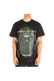 men's short sleeve t-shirt crew neckline Kanye Mask