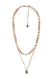Beads Double Necklace