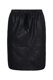 Madeleine Coated Suede Skirt