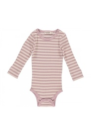 Stripet Marmar langermet body modal faded rose stripe