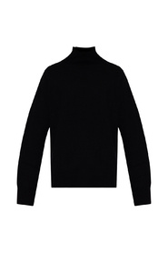 Turtleneck sweater with zip