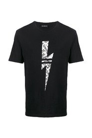 graffiti lightning bolt t-shirt