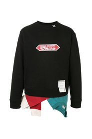 CREW NECK LAYER SWEATSHIRT