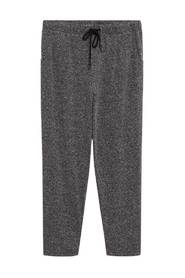 Flecked jogger trousers