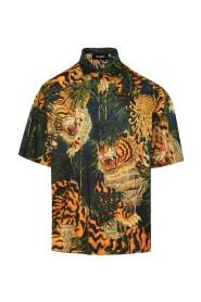 TIGER FLOWER shirt