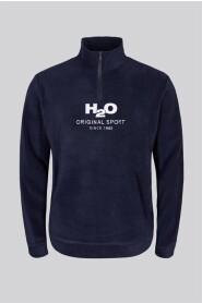 H2O Blåvand FleeceHalf Zip Tröja Navy
