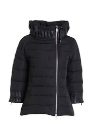 Down jacket with 3/4 sleeves