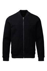 Clipper zip rund cardigan