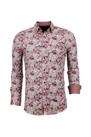 Exclusieve  Overhemd - Italiaanse Paisley Blouse - 3022