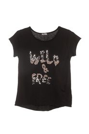 A NEW COLLECTION WILD SEQUIN T-SHIRT
