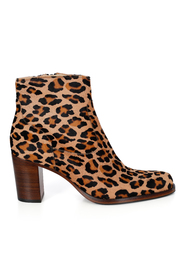Beige leopard Legend 7 Zip Boot ankelstøvel