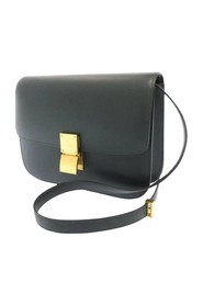 Classic Box Medium Leather Crossbody Bag