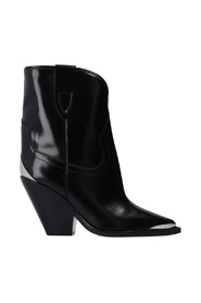 Leyane leather ankle boots