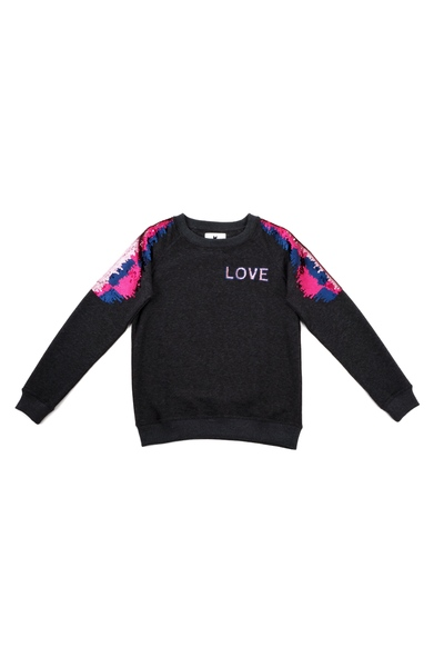 9c649983 Dark Grey love sweater genser | Blake Seven | Gensere | Miinto.no