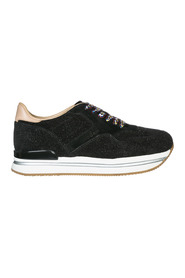 women's shoes suede trainers sneakers h222