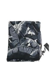 Cashmere Leaves Print Scarf