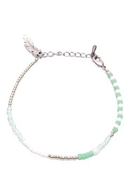 IVY ANKLET - mint silver
