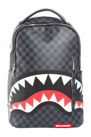 Checkered Sharks In Paris Backpack