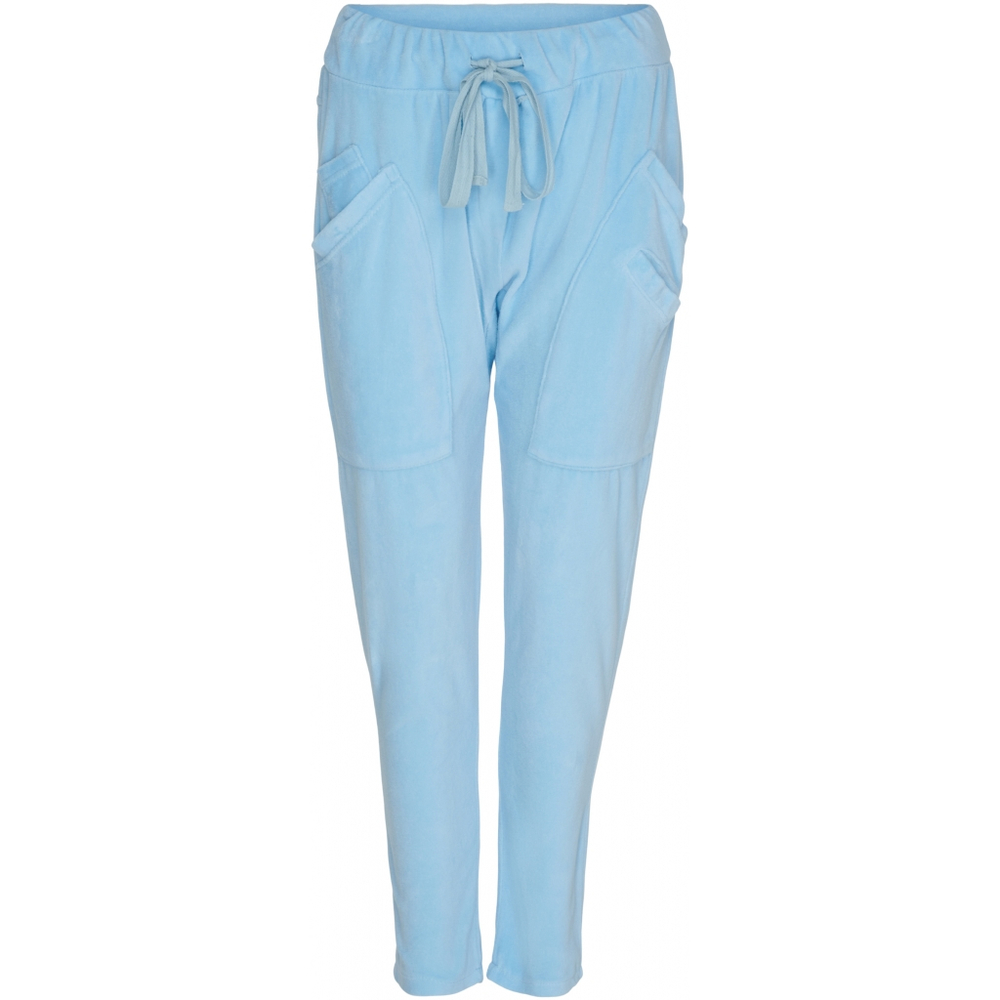 Marta Du Chateau Velour let Baggy Pants