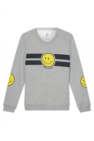 Smiley striped sweater