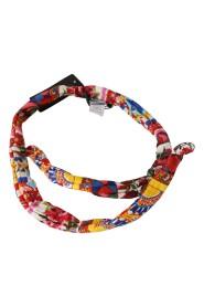 Silk Cotton Carretto Pattern Wrap Belt