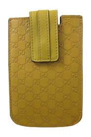 pre-owned iPhone Case Leather Calf