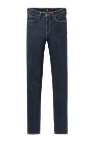 Scarlett high jeans tonal stonewash