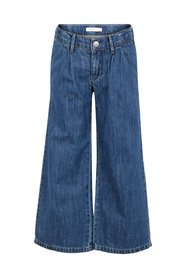 Jeans flared culotte