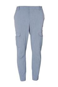 Grå Plain Kristoff Cargo Bukse