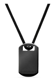 Granite Charcoal Necklace