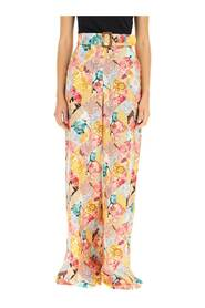 tempo kaleidoscope belted trousers
