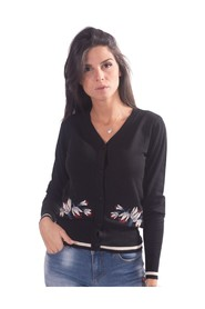Cardigan With Floral Pattern F120W06001K00101