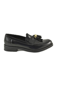 Leather Women's Loafer Shoes