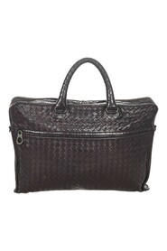 Pre-owned Intrecciato Leather Business Bag