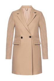 'Dree' coat with notched lapels