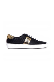 Irving stripe lace up sneakers