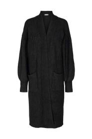 Row Knit Long Cardigan