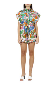 RIDERS mankietem Playsuit