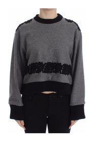 Lace Wool Cashmere Sweater