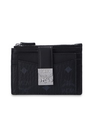 Folded wallet with logo