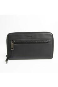 Pre-owned Selleria 7M0235 Leather Long Wallet (bi-fold)