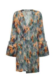 Dress With Arrows and Chine Flowers
