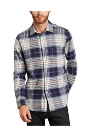 Bleeckers checked flannel shirt